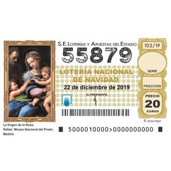 Sorteo Navidad 2019- 55879