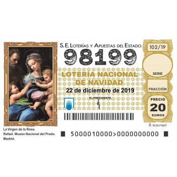 Sorteo Navidad 2019- 98199